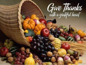 Give Thanks With A Grateful Heart To GOD!