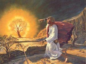 Moses at the Burning Bush