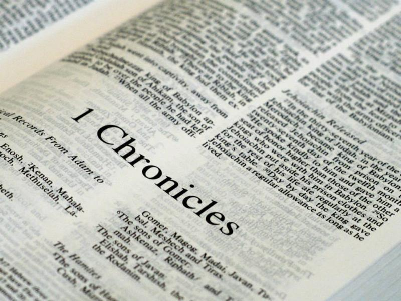1 Chronicles 1 – The Family of Adam – From Seth to Esau and Jacob