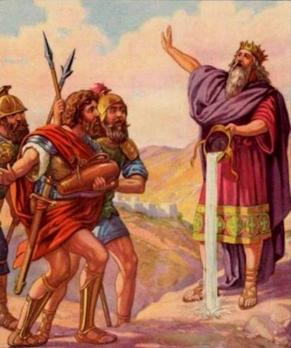 1 Chronicles 20: The Philistines Giants Were Slain.