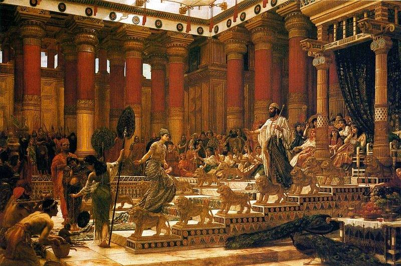 1 Kings 10 – King Solomon's Wealth and Fame