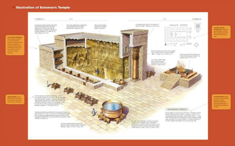 1 Kings 6 – King Solomon Built the Temple
