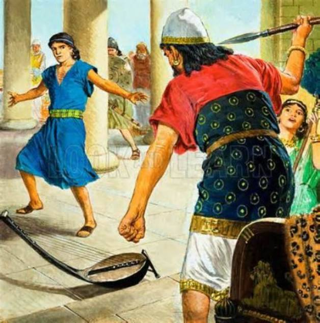 1 Samuel 19 – King Saul Sought to Kill David