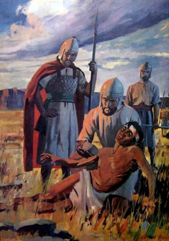 1 Samuel 30 – David Sought Counsel from God, Found the Egyptian, and Then Defeated the Amalekites