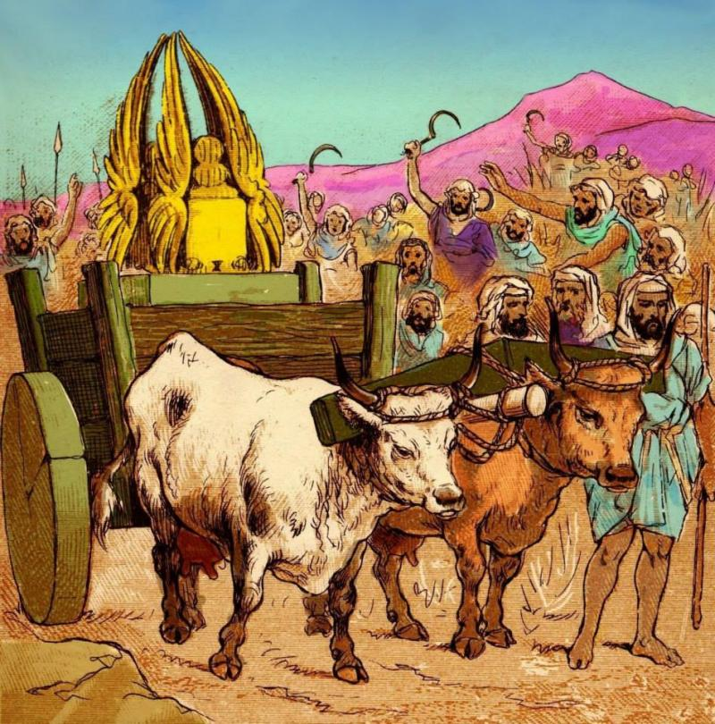 1 Samuel 6 – The Philistines Returned Back the Ark of God to Israel