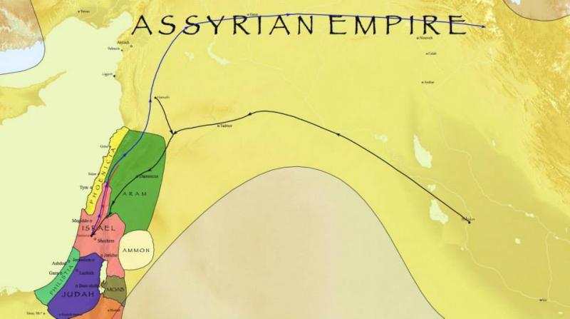 2 Kings 17 - Assyria Conquered Israel and Took Captives