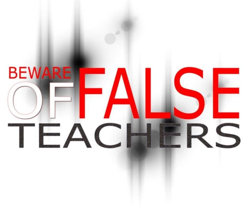 2 Peter 2 - Beware of False Teachings and False Teachers