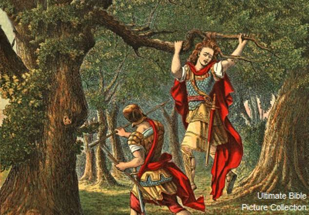 2 Samuel 18: Absalom Got Caught by the Tree and Was Killed by Joab and His Men.