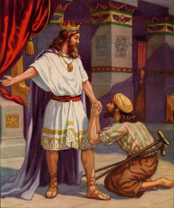 2 Samuel 9 – King David Showed Kindness to Mephibosheth