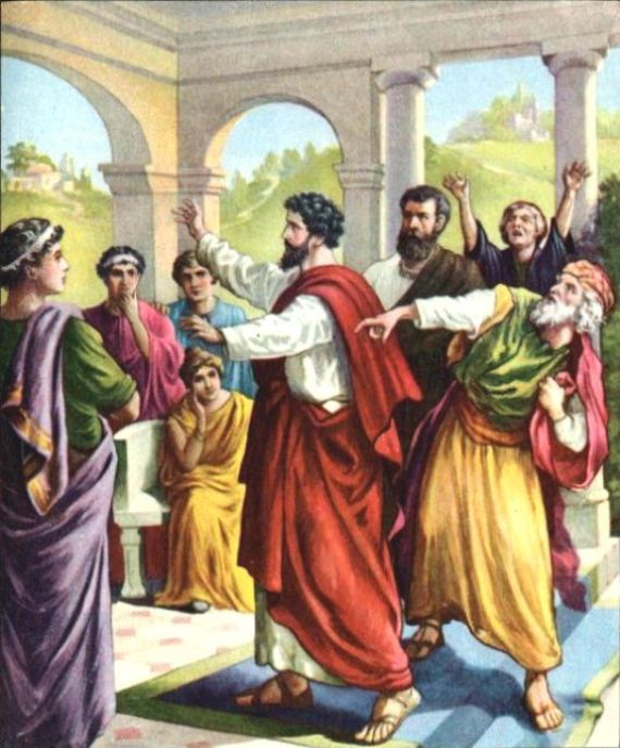 Acts 15 - Paul and Barnabas Met With the Jerusalem Council.
