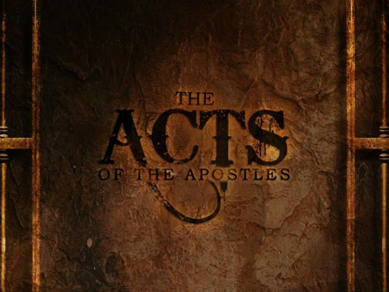 Acts 1 – Jesus Ascended to Heaven