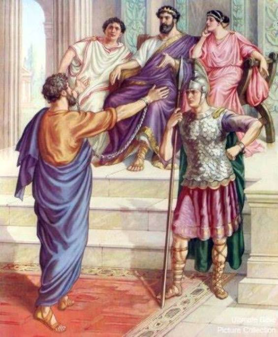 Acts 25: Paul Appealed to Caesar.