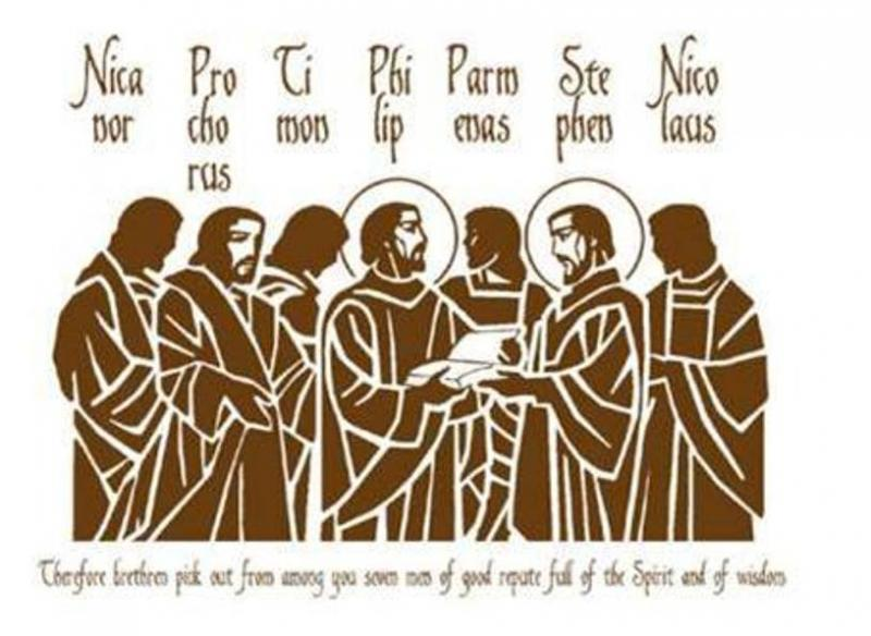 Acts 6: Seven Disciples Were Chosen to Serve.