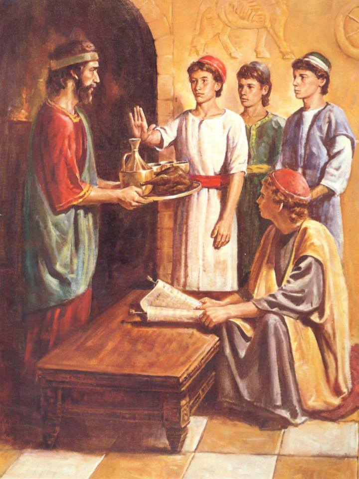 Daniel 1 – Daniel and His Friends Obeyed GOD