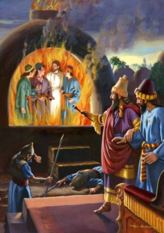 Daniel 3 – Shadrach and His Friends Obeyed GOD by Refusing to Worship the King Nebuchadnezzar's Statue, and GOD Saved Them from the King's Burning Fiery Furnace