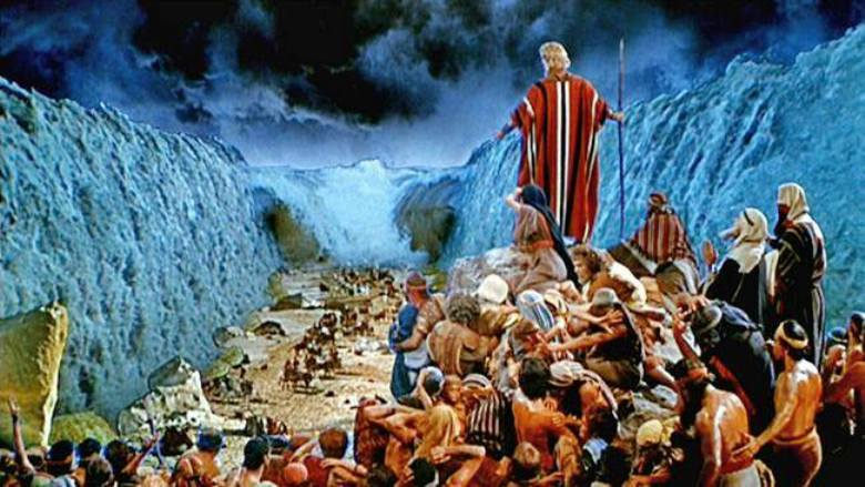 Crossing the Red Sea - According to God's Command – Moses Parted the Red Sea and the People of Israel Crossed the Red Sea on Dry Ground