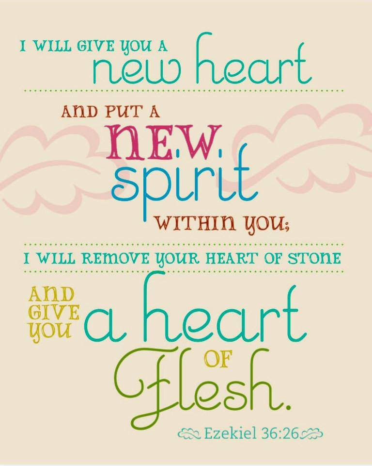 Ezekiel 36 – GOD Promised to Give A New Heart and A New Spirit to His People