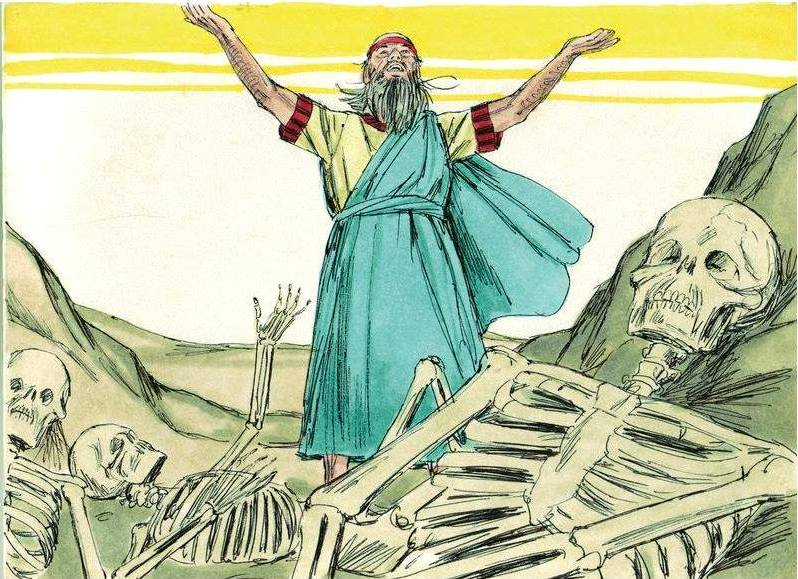 Ezekiel 37: The Valley of Dry Bones and GOD's Miraculous Transformation.