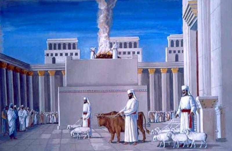 Ezekiel 44: The Instructions for the Priests in the Temple of GOD.