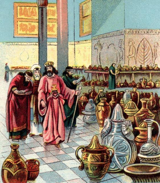 Ezra 8 – The List of Ezra's Companions to Jerusalem with the Dedicated Items