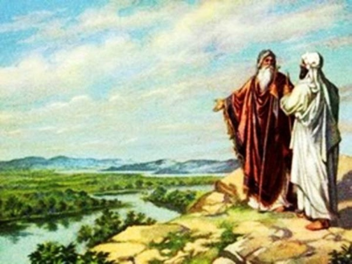 Genesis 13 - Abram and Lot Separated – And, Abram Inherited Canaan