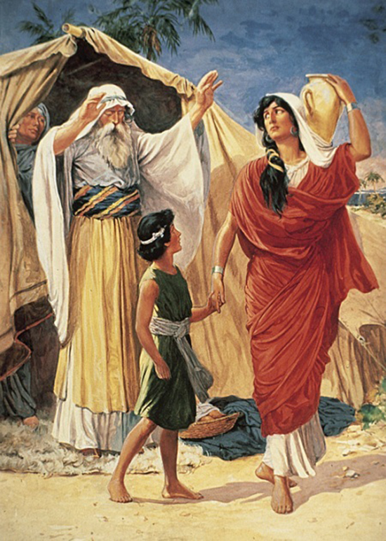 Genesis 21 - God Fulfilled His Promise, and Isaac the Promised Child Was Born to