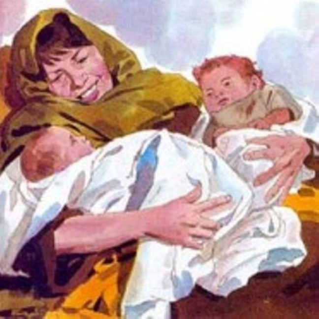 Genesis 25 – Rebekah Gave Birth to Esau and Jacob