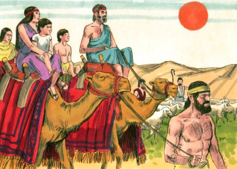 Genesis 31 – Jacob Left Uncle Laban