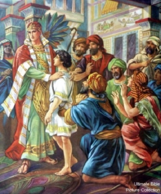 Genesis 43:16-34 - Joseph's Brothers Returned to Egypt with Benjamin