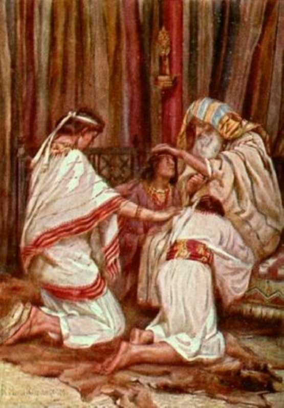 Genesis 48 - Jacob Blessed Joseph's Sons, Manasseh and Ephraim