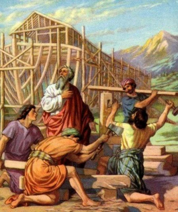 Genesis 6 - The Wickedness and Judgment of Man, But Noah Pleased God, and Noah P