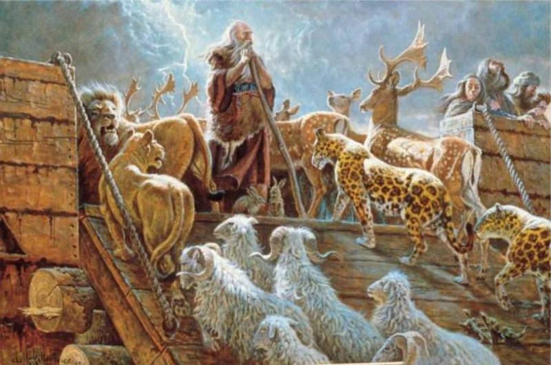 Genesis 8 – The Floodwaters Receded