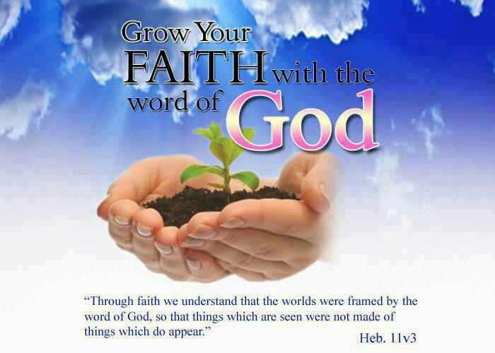 Grow Your Faith With The Word of God!