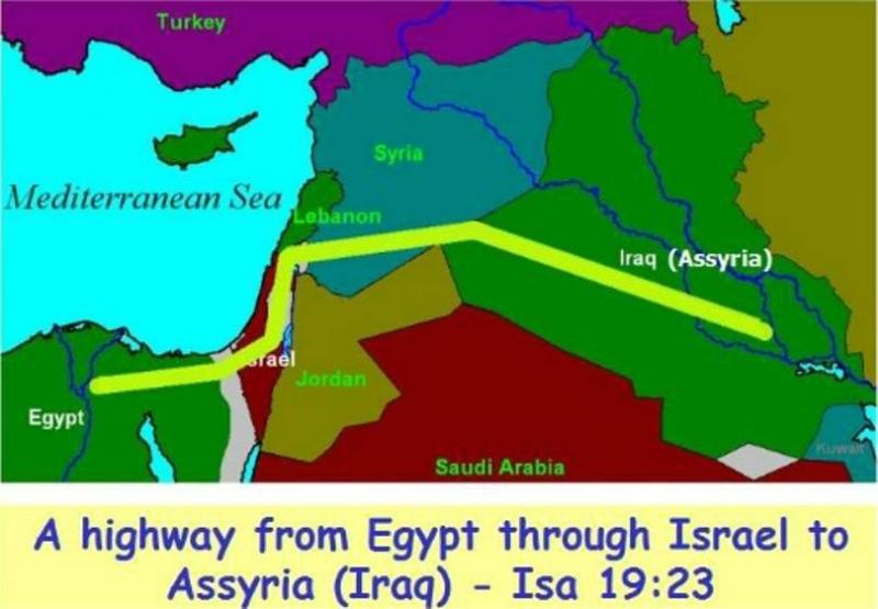 Isaiah 19 – The Prophecy Against Egypt and the Redemption of Egypt, Israel and Assyria