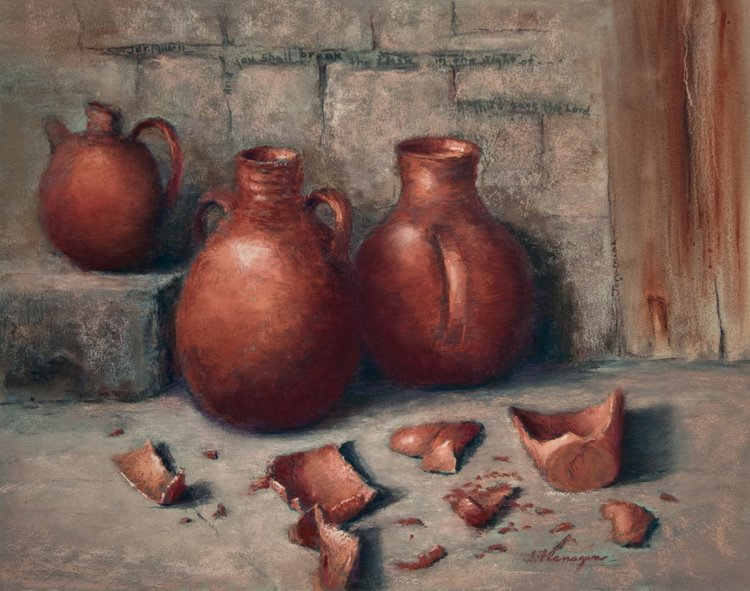 Jeremiah 19 – The Lesson from the Broken Pottery