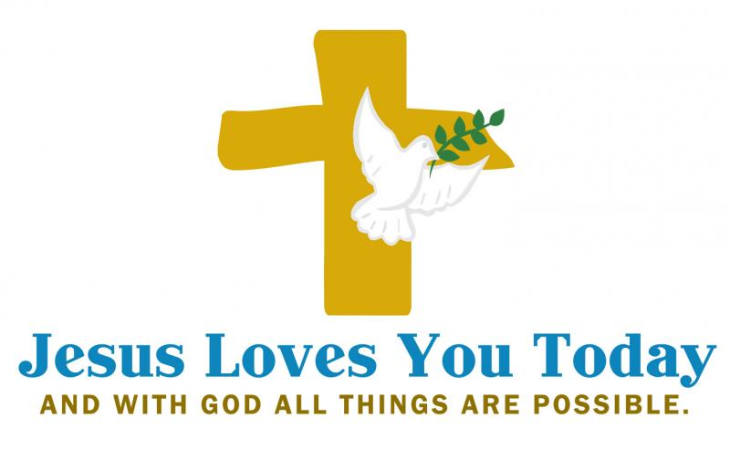 Jesus Loves You Today Logo