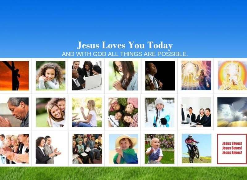 Jesus Loves You Today Cover Picture