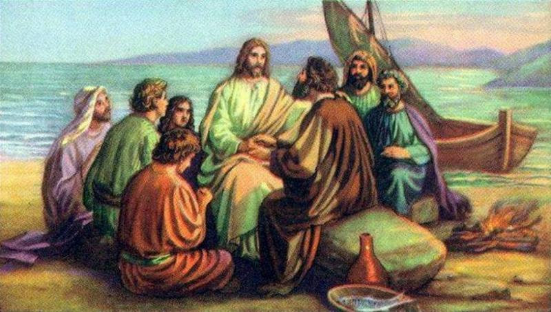 John 21: The Breakfast with the Risen Lord Jesus Christ By the Sea.
