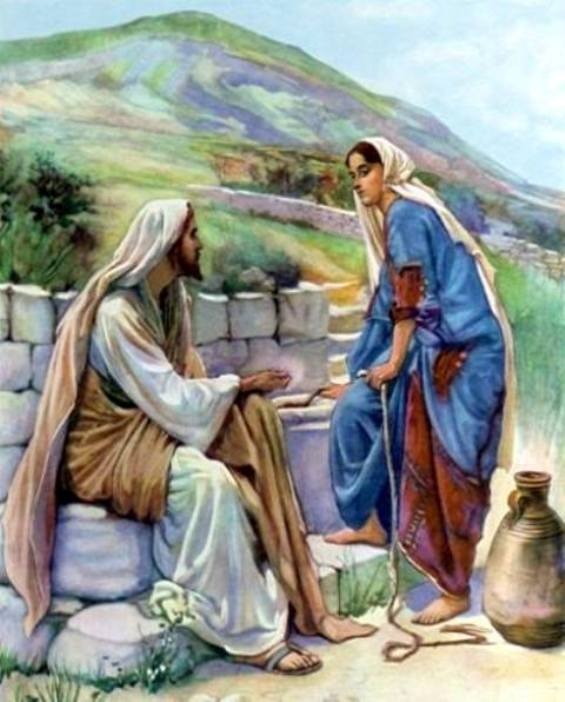John 4: Jesus Preached and Ministered to the Woman at the Well in Samaria, and the Multitude, and Jesus Healed in Galilee.