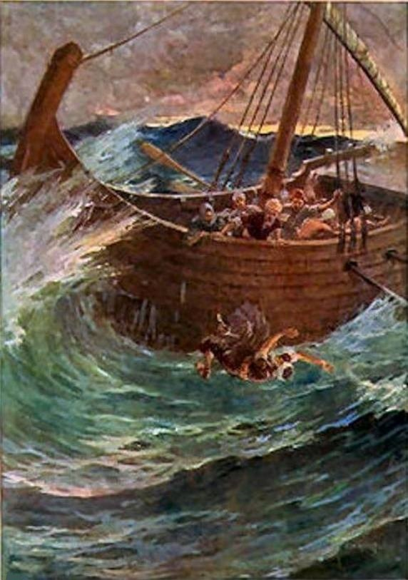 Jonah 1 – Jonah Attempted to Flee from the Presence of GOD, Jonah's Disobedience and His Punishment