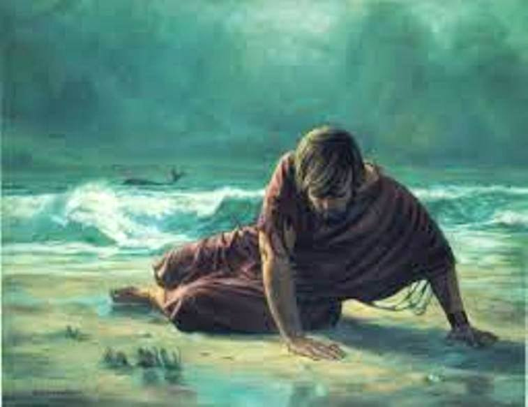 Jonah 2 – From the Fish's Belly Jonah Prayed to GOD and GOD's Answered Him, and GOD Saved Jonah and Gave Jonah a Second Chance to Fulfill His Purpose