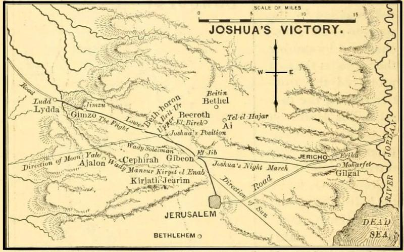 Joshua 11: Joshua Conquered the Entire Land of Several Kingdoms