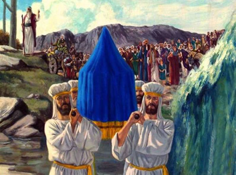 Joshua 3 – The People of Israel Crossed the Jordan on Dry Ground