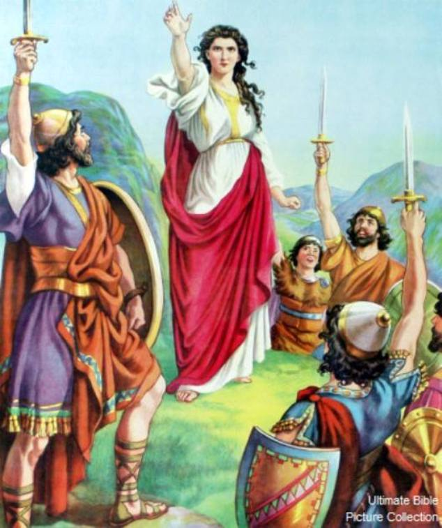 Judges 4: Deborah and Barak Defended Israel.
