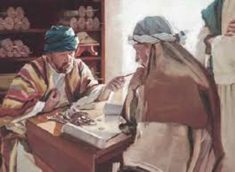 Luke 16 - Jesus Told the Parable of the Dishonest Servant, and the Story of the