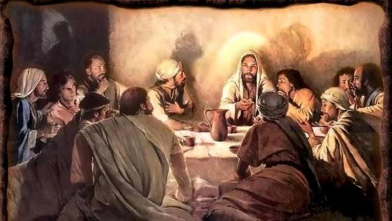 Luke 22a: The Beginning of the Lord's Supper, Jesus Established the Lord's Supper and the New Covenant.