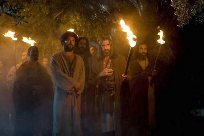 Luke 22d: Jesus Was Arrested in the Night by the Chief Priests.