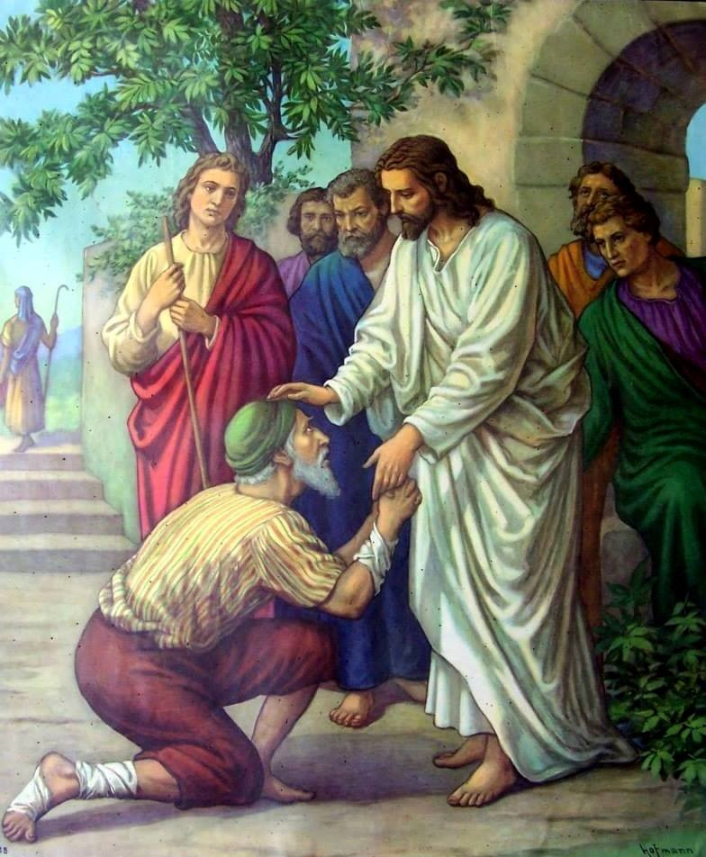 Luke 5b – Jesus Healed a Man with Leprosy