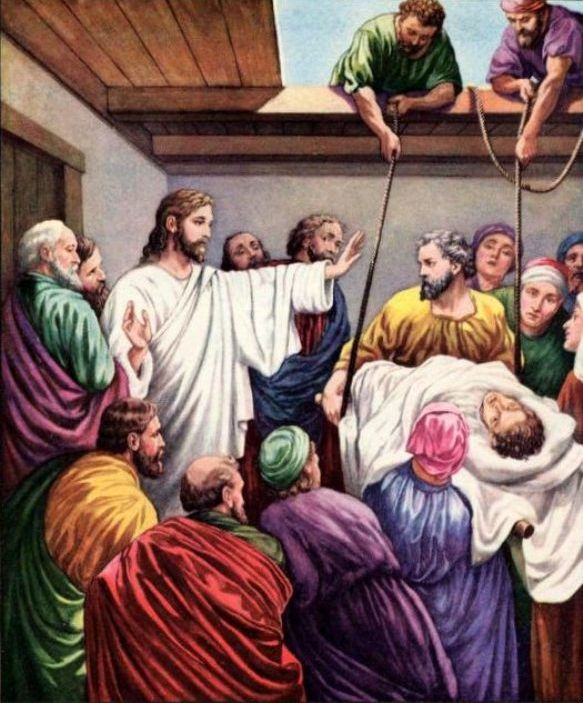 Luke 5c – Jesus Healed the Paralytic Man