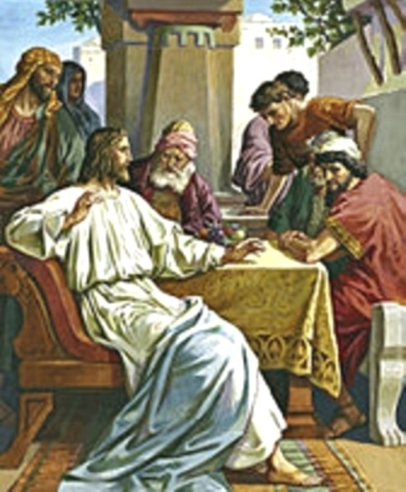 Luke 5d – Jesus Called Levi, and Jesus Dined at Levi's House with His Disciples, Tax Collectors, and Sinners